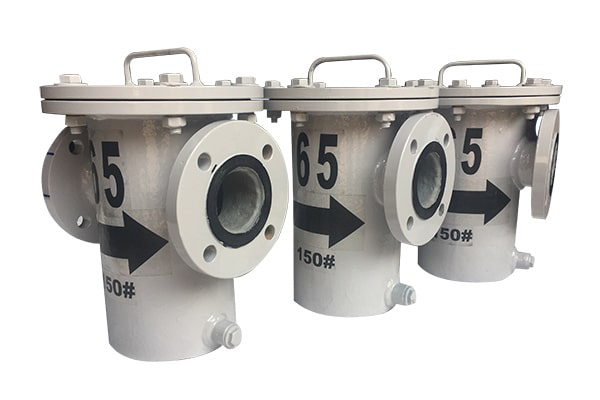 Basket Type Strainer - Manufacturer of bucket type strainer, fabricated basket strainers,basket filters, filter elements & industrial strainers from India